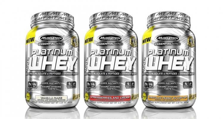 Muscletech Platinum Whey, des protéines de référence