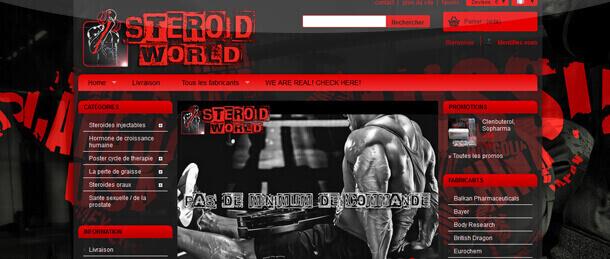 Avis sur Steroid World