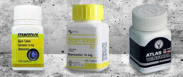Winstrol Oral, Stanozolol en Tablets